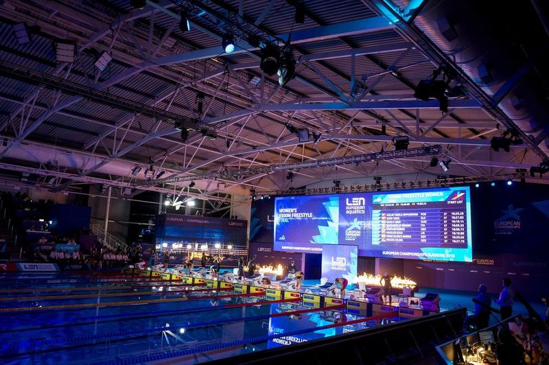 ONE YEAR TO GO UNTIL LEN EUROPEAN SHORT COURSE SWIMMING CHAMPIONSHIPS ARRIVES IN GLASGOW