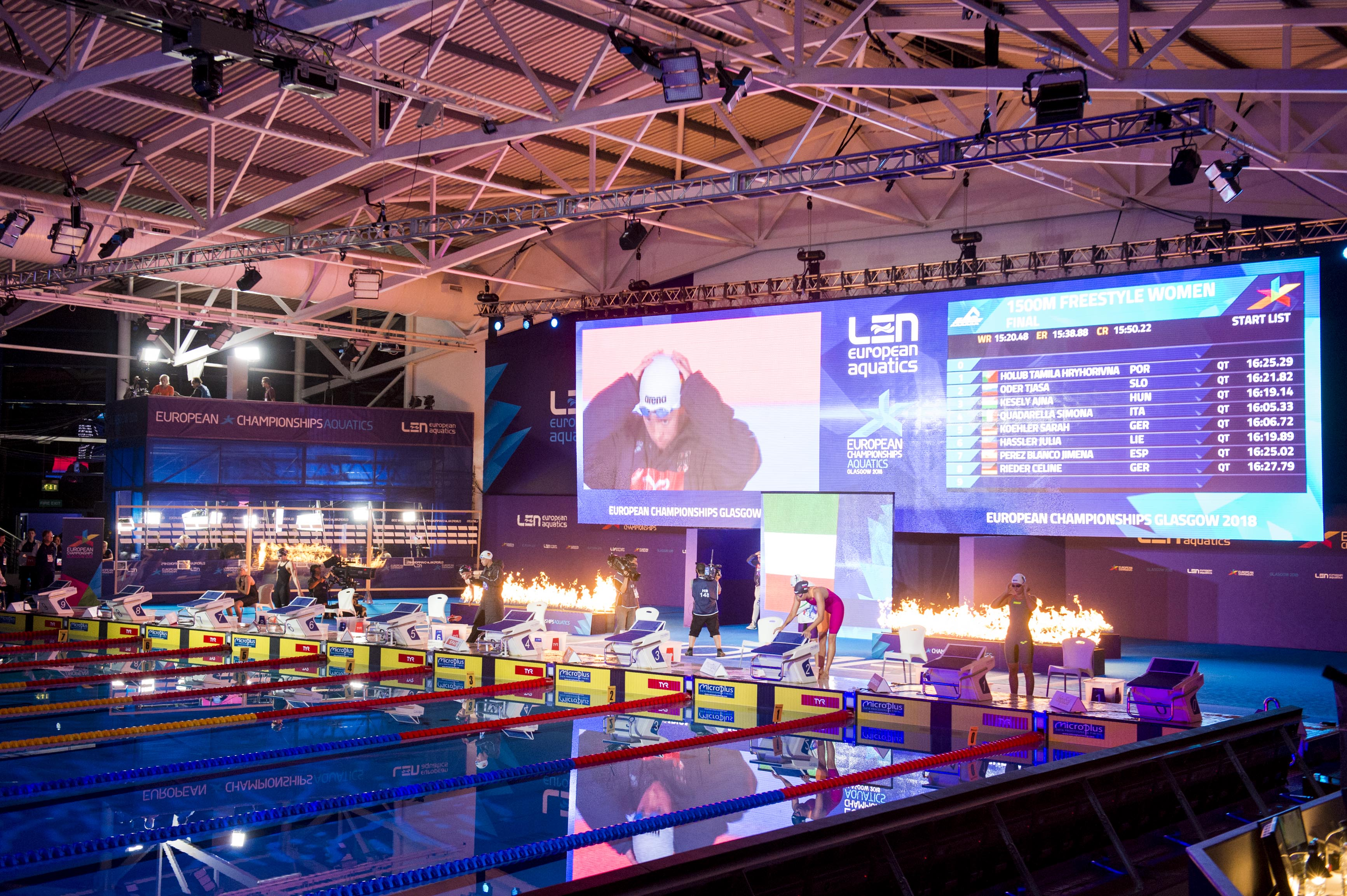 History in the making at Tollcross International