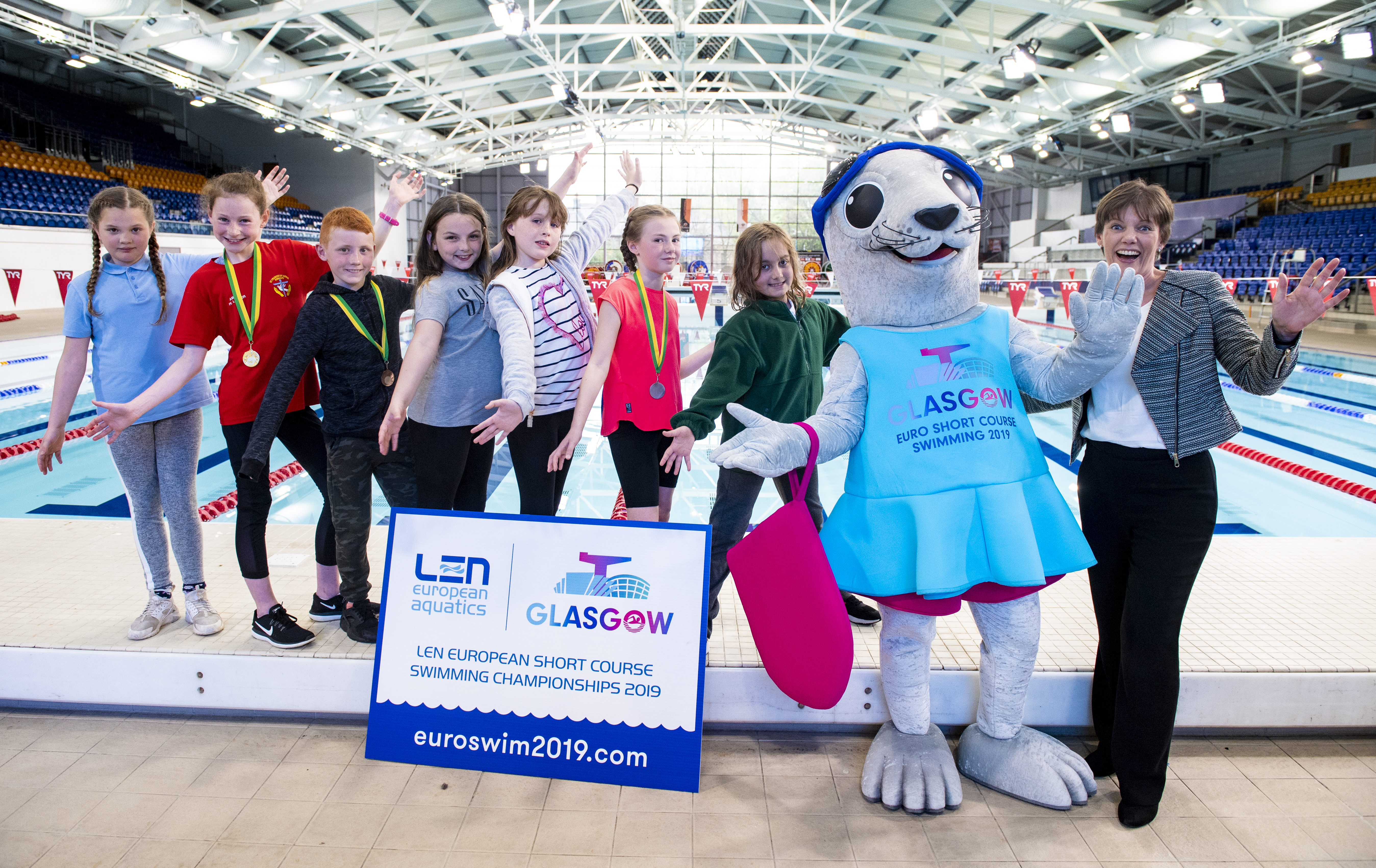 Bonnie's amazing adventures lead her back to Glasgow for LEN European Short Course Swimming Championships