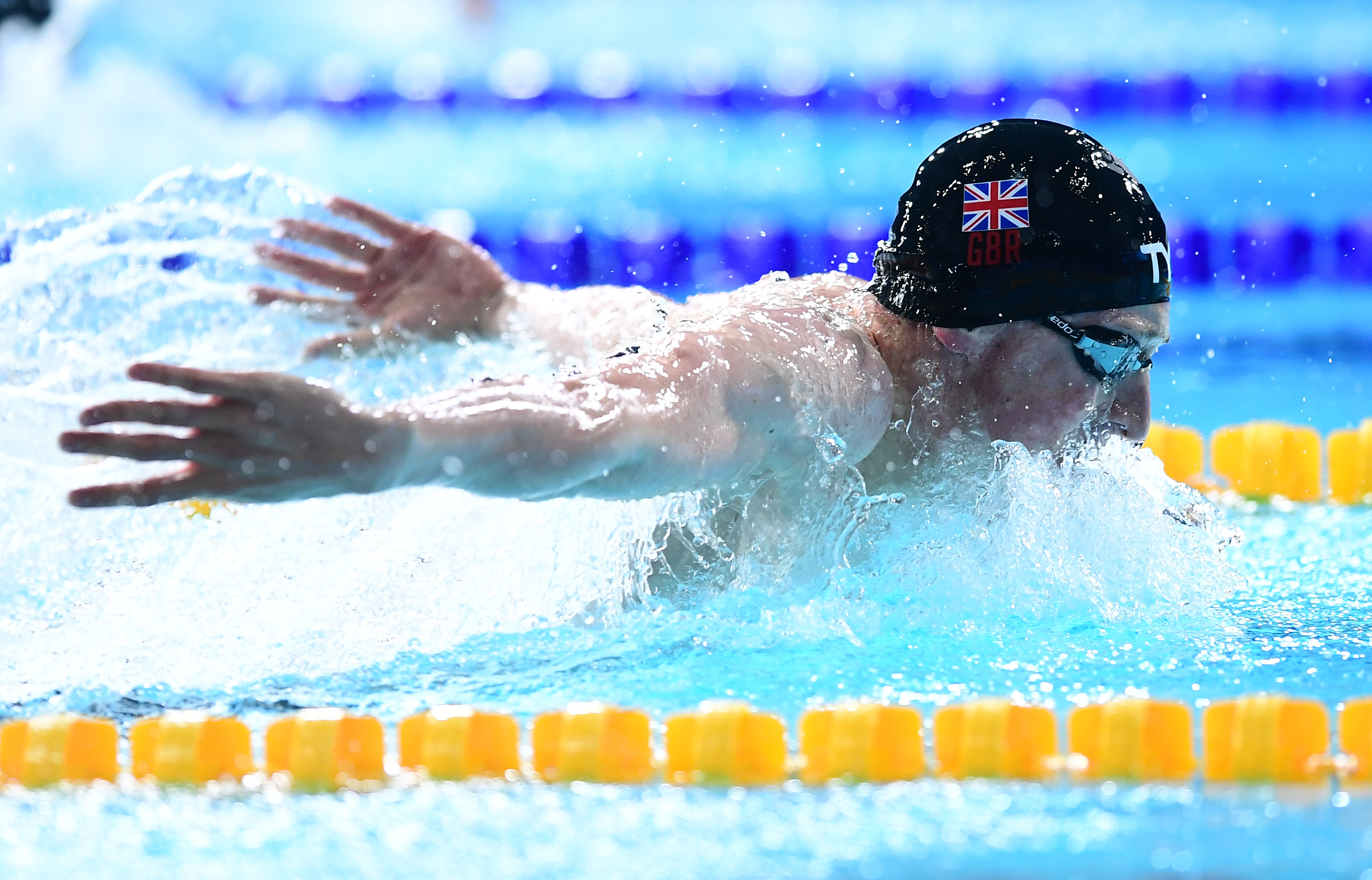 Litchfield using the spirit of Stokes to spur him on to Glasgow success
